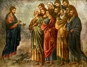 Jesus Instructs the Eleven