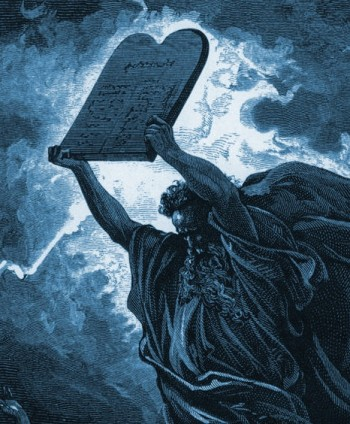 The Ten Commandments Were Written on Sapphire Tablets From God's Throne