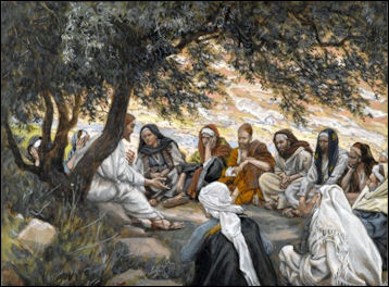 Disciples Under the Olive Tree James Tissot