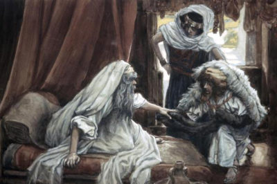 Isaac Blesses Jacob - Tissot